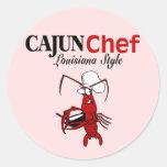 Cajun Chef Round Sticker