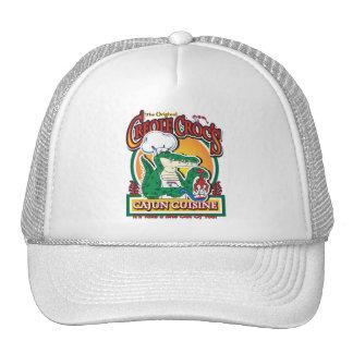 Cajun Creole Mardi Gras Crocodile Mesh Hat