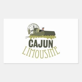 Cajun Limousine Rectangular Sticker