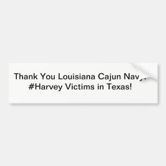 Cajun Navy Bumper Sticker