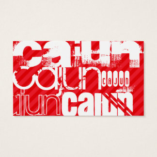 Cajun; Scarlet Red Stripes