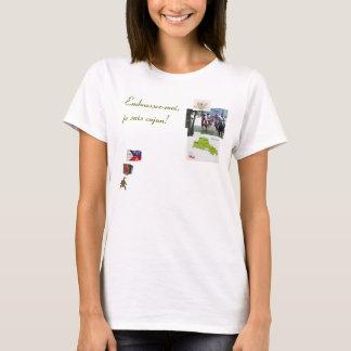 Cajun T-shirt, Embrassez-moi, je suis ca... T-Shirt