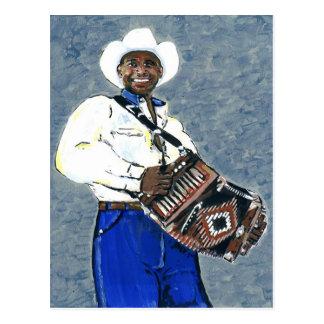 Cajun Zydeco Music Post Cards