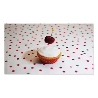 Cake And Cherry Business Card