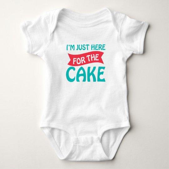 Cake Baby Jersey Bodysuit