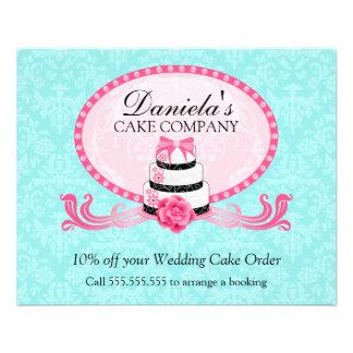 Cake Bakery Discount Voucher 11.5 Cm X 14 Cm Flyer