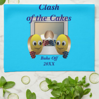 Cake Baking Contest Tea Towel
