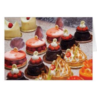 Cake - Bellagio - Le Dessert Greeting Card