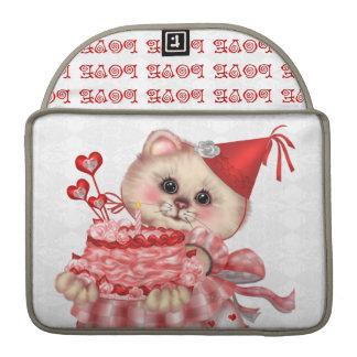 "CAKE CAT  Rickshaw Macbook PRO Sleeve 13 """
