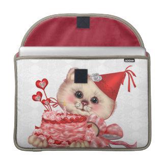"CAKE CAT  Rickshaw Macbook PRO Sleeve 15 """