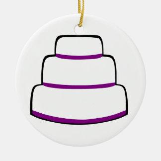 Cake Christmas Ornament