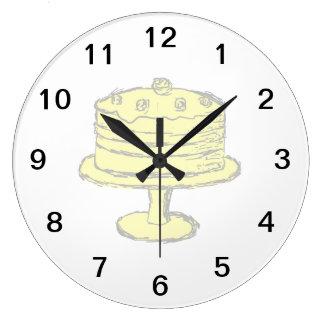 Cake. Clock