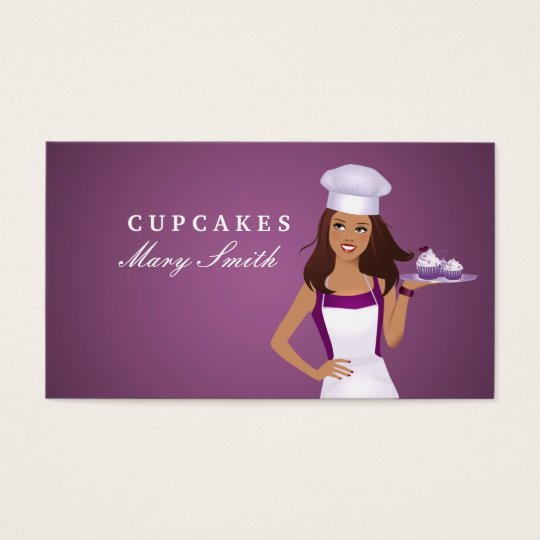 Cake Decoration Classes Business Card