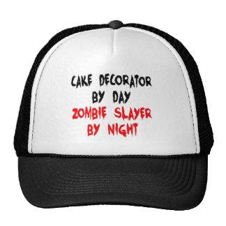 Cake Decorator Zombie Slayer Mesh Hats