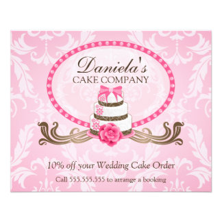 Cake Discount Voucher 11.5 Cm X 14 Cm Flyer