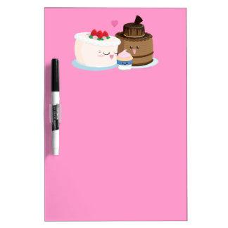 Cake Family Dry Erase Board
