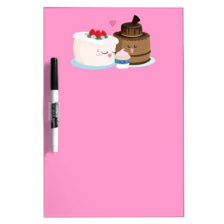 Cake Family Dry-Erase Whiteboard