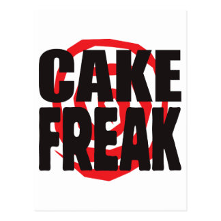 Cake Freak Postcard