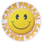 Cake Freak Smile Plate