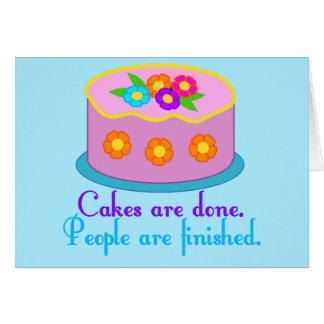 Cake Grammar Card