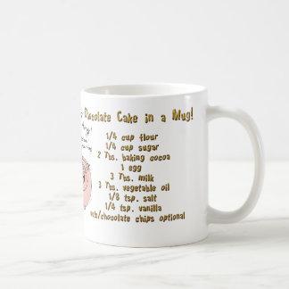 Cake in a Mug, mug! Basic White Mug