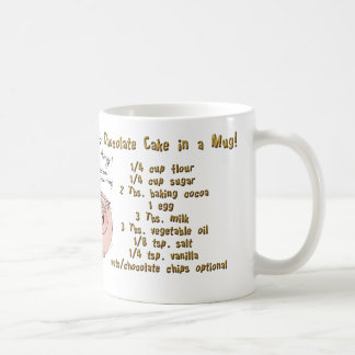 Cake in a Mug, mug! Coffee Mug