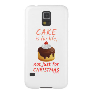 'Cake Is For Life...' Case For Galaxy S5