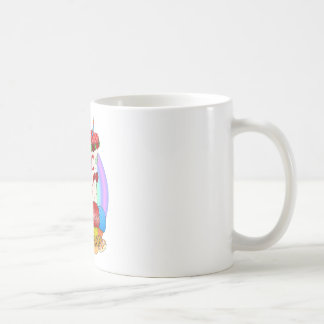 Cake Lady Design Coffee Mugs