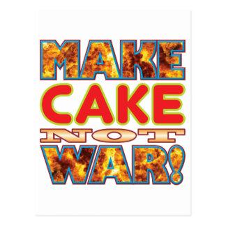 Cake Make X Postcard