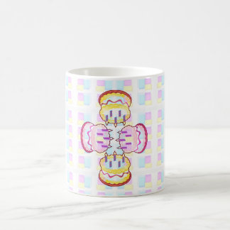 CAKE MANIA :  KIDS would like PLAY with CAKES Basic White Mug