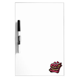 Cake Monster Dry Erase Whiteboard