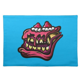 Cake Monster Place Mats