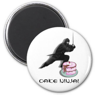 Cake Ninja! Magnet