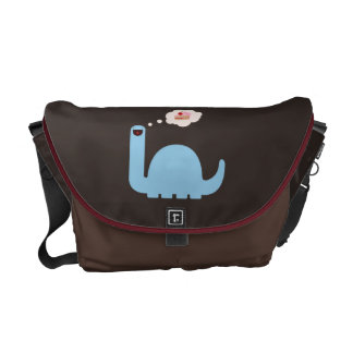 Cake-o-Saurus Messenger Bag