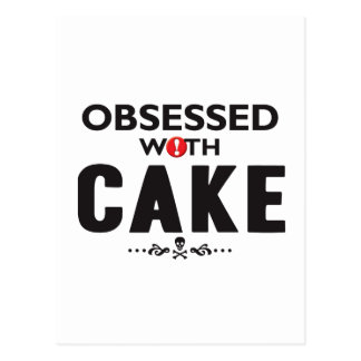 Cake Obsessed Postcard