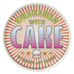 Cake Obsessed R Party Plates
