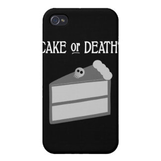 Cake or Death? iPhone 4/4S Cases