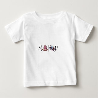 Cake or Death- Regular Expression Baby T-Shirt