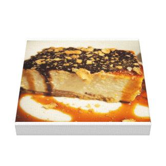 Cake Photograph Canvas Print