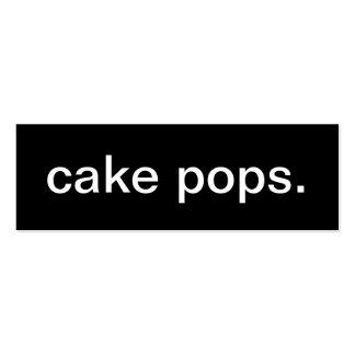 Cake Pop Business Card