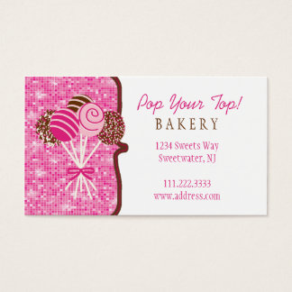 Cake Pops Bakery : Business Card
