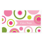 Cake Pops Bakery Business Cards