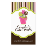Cake Pops Bakery Cards