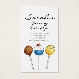 Cake Pops - Business Card