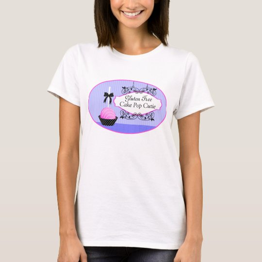 Cake Pops Desserts Custom Business T-Shirt