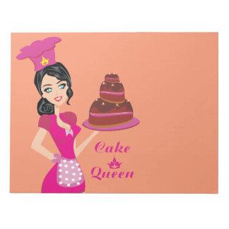 Cake Queen Notepad