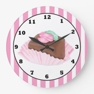 Cake Shop Fun wall clock