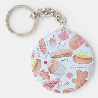 Cake shop key ring
