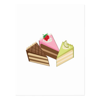 Cake Slices Post Cards
