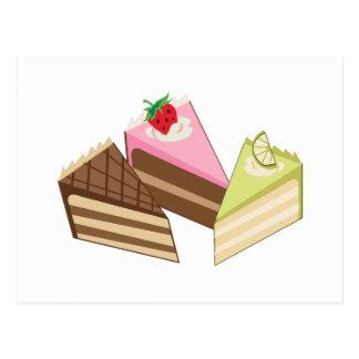 Cake Slices Postcards